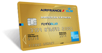 Les cartes de paiement en co-branding Air France KLM – American Express