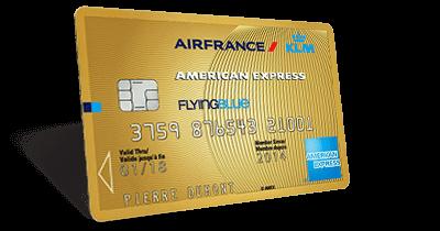 Les cartes de paiement en co-branding Air France KLM – American Express